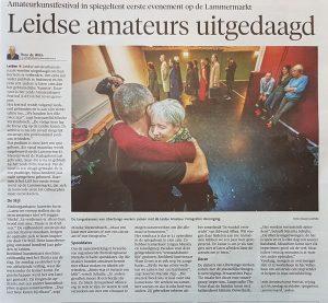 Foto Hielco Kuipers Leidsch Dagblad - Libertango Leids Amateurkunst Festival
