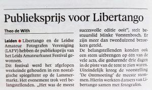 Libertango - wint Leids Amateurkunst Festival